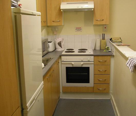 Bardzo mała kuchnia