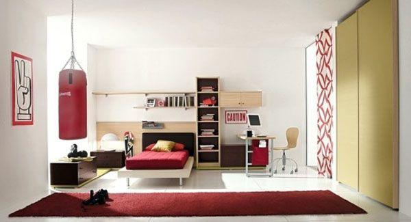 Pokój dla chłopca w ciepłych kolorach