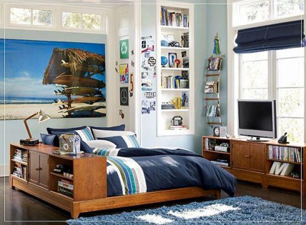 Pokój dla chłopca drewniane meble